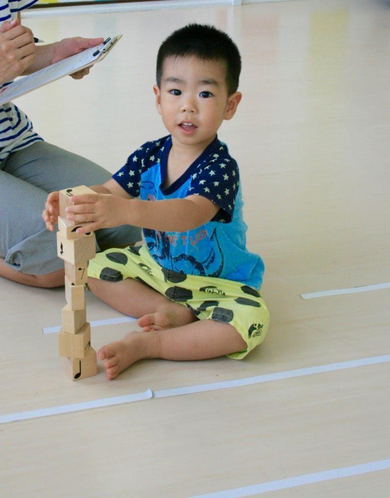 1歳児積み木