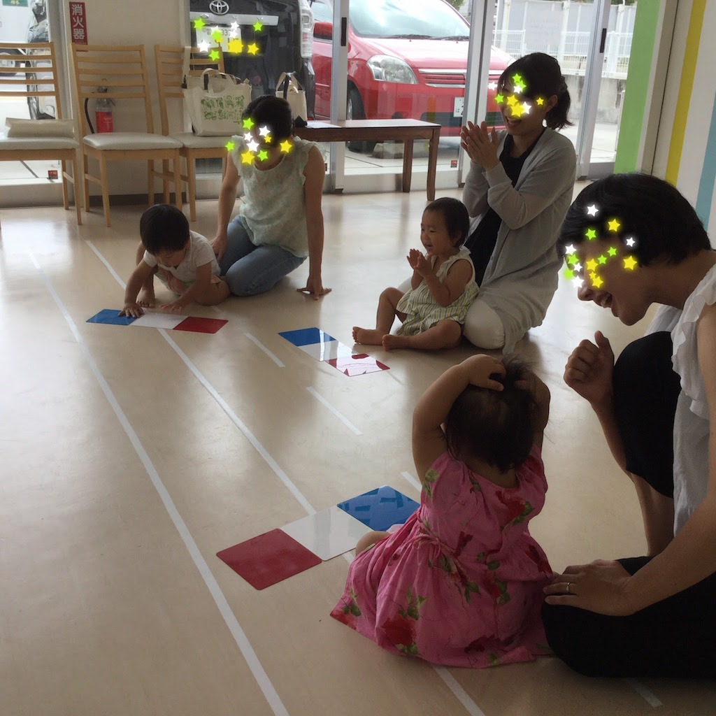 1歳児カラーボード